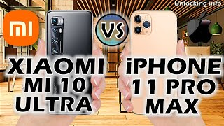 Xiaomi Mi 10 Ultra vs iPhone 11 Pro Max