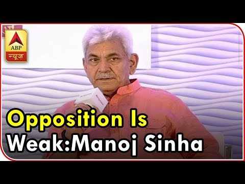 Manoj Sinha FULL: Name One Opposition Leader Who Is Among The Masses   ABP News