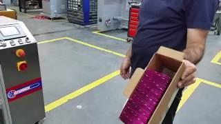 видео: Полностью автоматическая машина для упаковки в пакеты типа саше S110