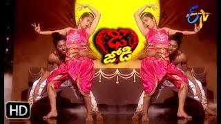 Abhay Surya and Jeevana Performance | Dhee Jodi | 3rd April 2019 | ETV Telugu