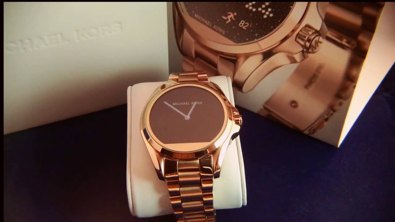 e06ae1bf6cd40 Review of the Michael Kors Access smartwatch - Watch Review - YouTube