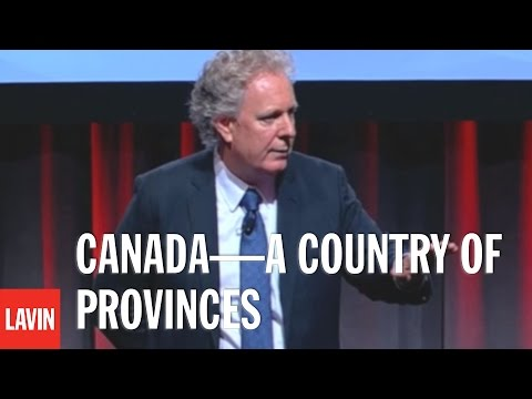 Jean Charest: Canada—A Country of Provinces