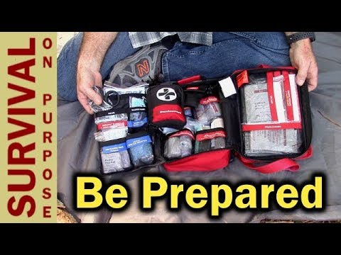 Surviveware Large First Aid Kit - Perfect For Boy Scouts and Families