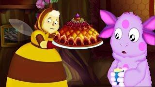 Лунтик и его Друзья. Пирог на День Рождение/Luntik Pie.Развивающий Мультик Игра про Лунтика