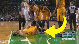 Rudy Gobert Suffers ANOTHER PAINFUL Knee Injury!