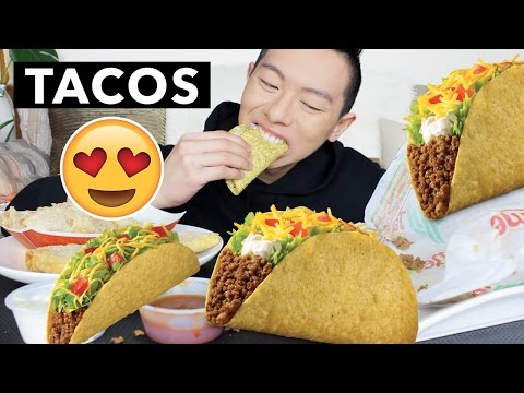 TACOS & CHIPS MUKBANG | *Extreme CRUNCH* | Eating Show + WORK DRAMA STORYTIME