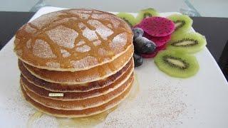 Панкейки - clip công thức làm bánh Pancake bánh phèn la  Video Hướng dẫn học cách làm bánh Pancake