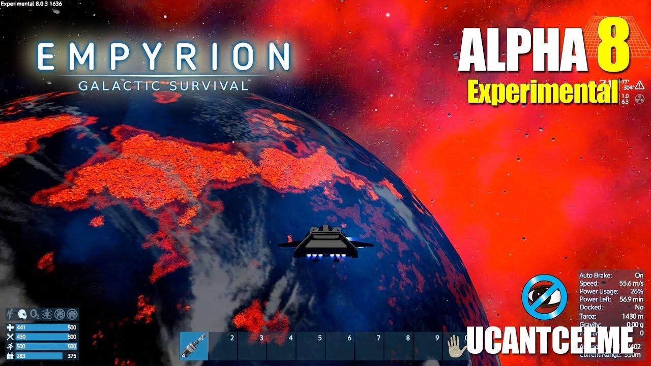 DANGEROUS EXPLORATION | FIRE LAVA PLANET | Empyrion Galactic