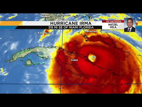 Local 10 News Hatzel Vela reports from Cuba during Hurricane