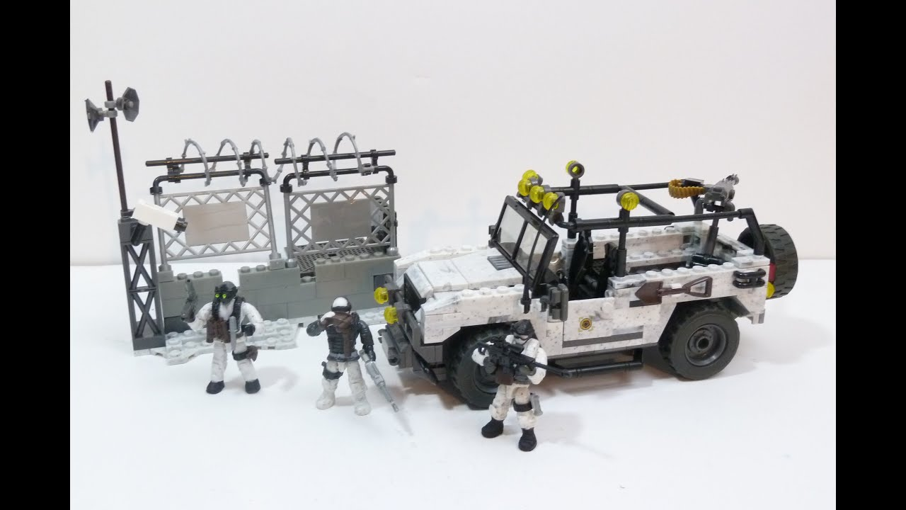 Rob a reviews mega bloks call of duty arctic invasion youtube