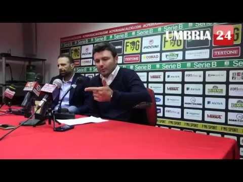 Calcioscommesse, Goretti: «Solo leggerezze», Santopadre  «Fiducia in lui»