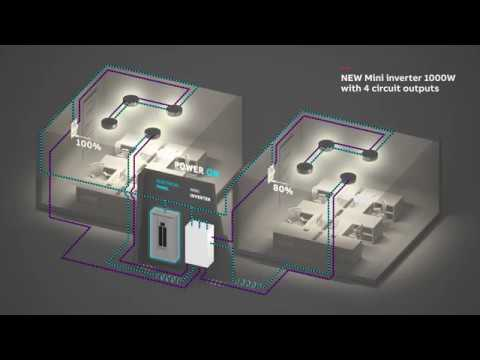 abb mini inverter wiring diagram 4 circuit outputs youtube  abb mini inverter wiring diagram 4 circuit outputs