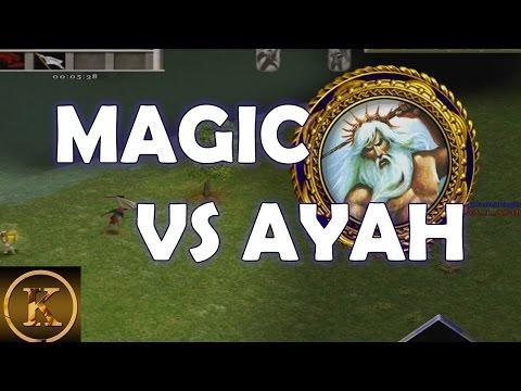 Age of Mythology KeeN Magic VS Lad Ayah Marsh PRO!