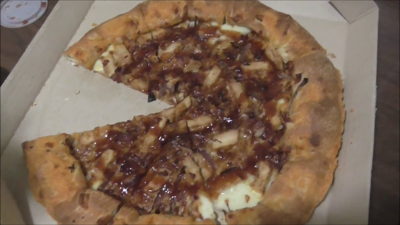 Pizza Hut Backyard BBQ Chicken Pizza!! Eating Good In The ...