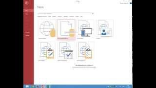 Създаване на База данни на access 2013