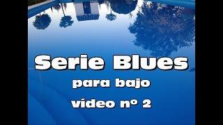 Aprende el bajo tocando el BLUES - vídeo nº 2