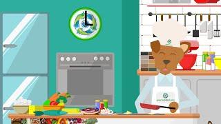 Gourmet4Pet - Bioaromas - Animación