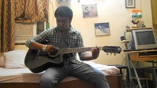 Teri Yaadein-(Love Story) Guitar Cover with Chords