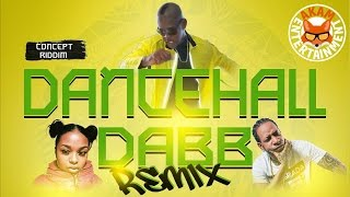 Mr. Vegas Ft Nadia Rose & Don Andre - Dancehall Dabb (Remix) August 2016