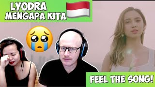 Gambar cover LYODRA - MENGAPA KITA #TERLANJURMENCINTA ( OFFICIAL MUSIC VIDEO ) | REACTION!🇮🇩