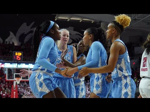 Womens Basketball: Tar Heels End Packs Undefeated Run 64-51