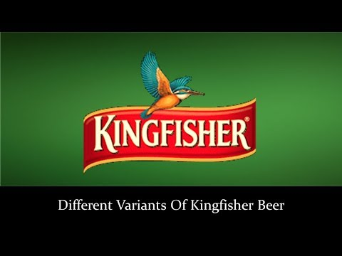 Different Variants Of Kingfisher Beer