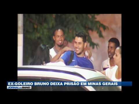Ex-goleiro Bruno é libertado em Minas Gerais