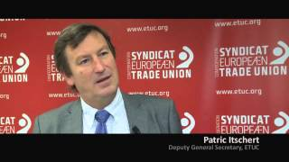 Patrick Itschert (ETUC) on Working Time