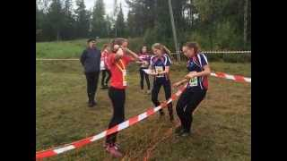 Ungdoms-SM orientering 2015 med Gästrikland