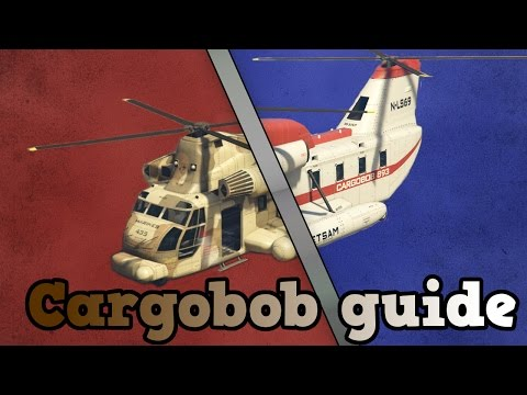 GTA online guides - Cargobobs!