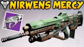 Destiny: BEST PVP WEAPON? Nirwens Mercy Review & Red Death Comparison (Iron Banner Rewards)