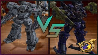 Armored Core 3 Silent Line - Starter AC VS Corpse Maker