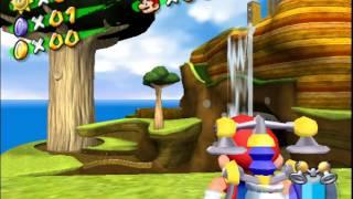 Honeyhive Planet in Super Mario Sunshine