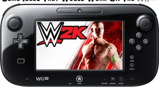 Game Ideas That Would Work On The Wii U: WWE 2K