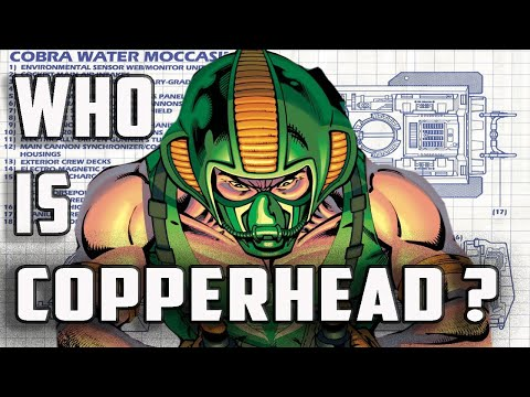 History And Origin Of GI Joe's COPPERHEAD!