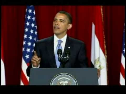 President Obama Speaks to Muslims Around the World from Cairo, Egypt