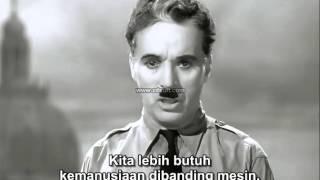 Video Kata kata menginspirasi dari Charlie Chaplin ketika menjadi Hitler  Sub. Indonesia download MP3, 3GP, MP4, WEBM, AVI, FLV September 2018