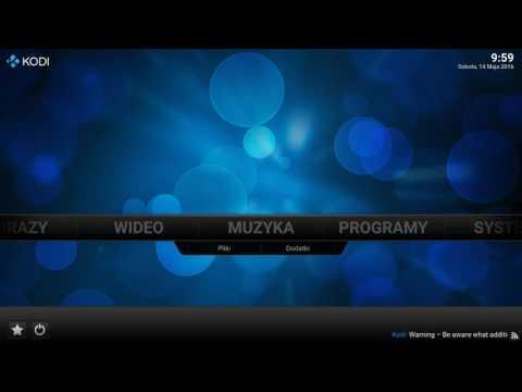 Instalacja SD XBMC TELEWIZJADA