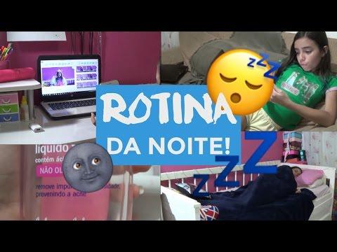 MINHA ROTINA DA NOITE NAS FÉRIAS! ❥