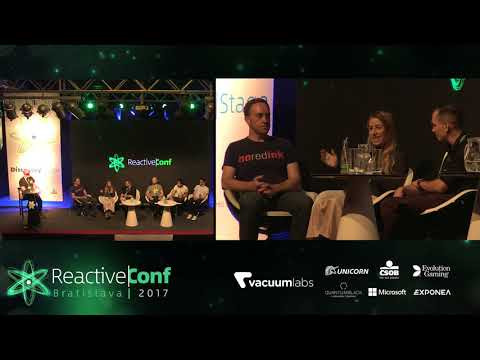 ReactiveConf 2017: Panel Discussion