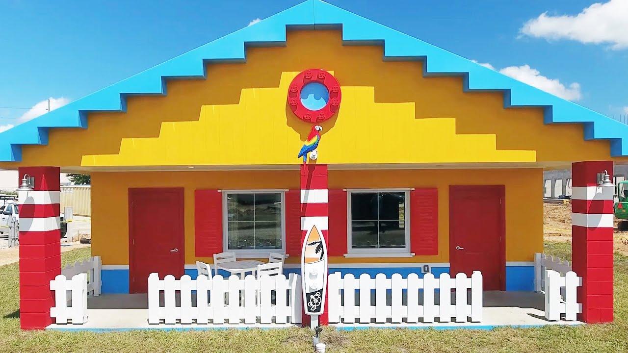 LEGOLAND Florida Beach Retreat Bungalow Sneak Peek Of Interior