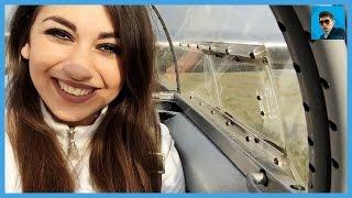 Девушка Летает На Мини Самолете (Тест Драйв)
