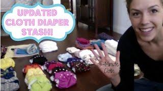 My Cloth Diaper Stash!