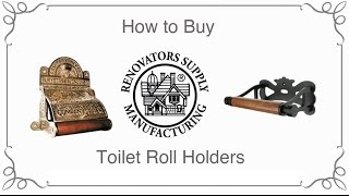 Toilet Paper Holder | Toilet Roll Holders How to Buy | Renovator's Supply