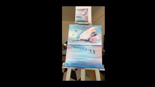 Lazúrne Nebo - Maľujeme s PaintPeople