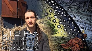 Libra Full Moon Equinox March 20th - New Beginnings | Healing Through the Mirror of Relationship