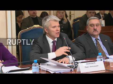 Russia: Sports minister supports Russian athletes' decision to take part in Winter Olympics
