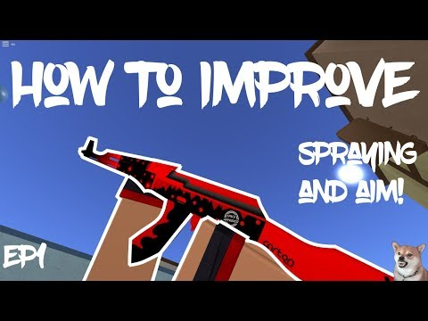 How To Improve Aim And Spray - Counter Blox 101 Episode 1