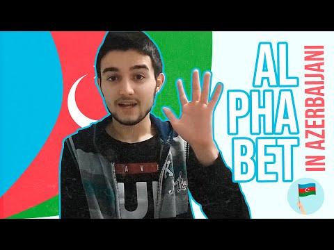 Learn Azerbaijani - Alphabet