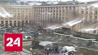 В Москве снова объявили штормовое предупреждение
